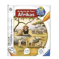 tiptoi Entdecke die Tiere Afrikas (tiptoi Wieso? Weshalb? Warum?, Band 9)