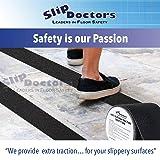 SlipDoctors Outdoor Black Anti-Slip Safety Tape 4