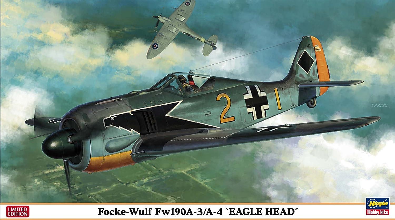09942 1/48 Focke-Wulf FW190A-3/A-4 Eagle Head Ltd. Ed (japan import) Hasegawa