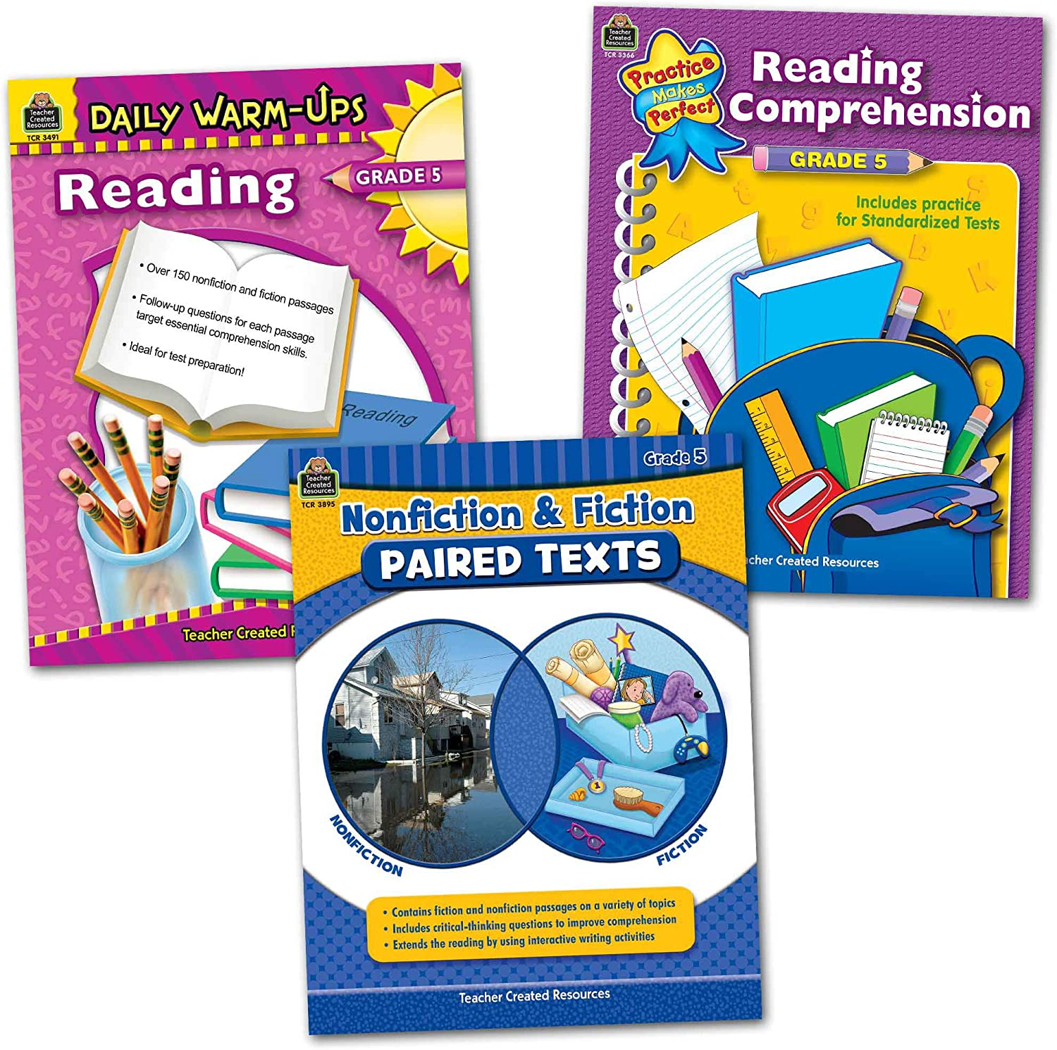 Teacher Created Resources Learning Together: Reading Grade 5
