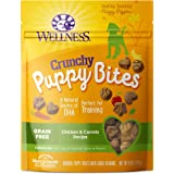 Wellness Natural Grain Free Crunchy Chicken & Carrots Recipe Puppy Bites Dog Treats