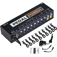 Asmuse™ Fuente de Alimentación de Efectos Pedales Guitar Effect Pedals Power Supply para E Guitarra Bojo