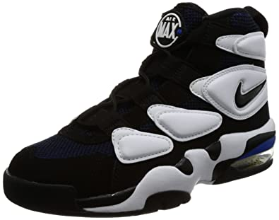 a7fcb409b32b Nike Air Max 2 Uptempo  94 White Black-Royal Blue (8.5 D