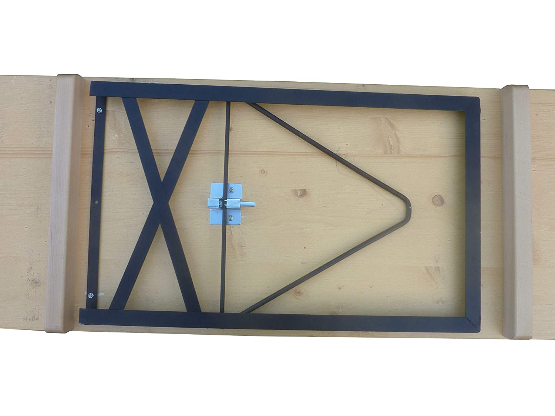 Gestell gr/ün L/önne Klapptisch Standard Nussfarbig lasiert 220 x 50 cm