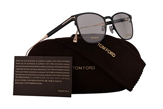 3fb92b56a1 Image Unavailable. Image not available for. Color  Tom Ford FT5483  Eyeglasses ...
