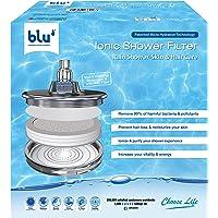 Ionic Shower Filter - Natural Immune System Booster, Rejuvenate Your Hair & Skin - Rain Shower