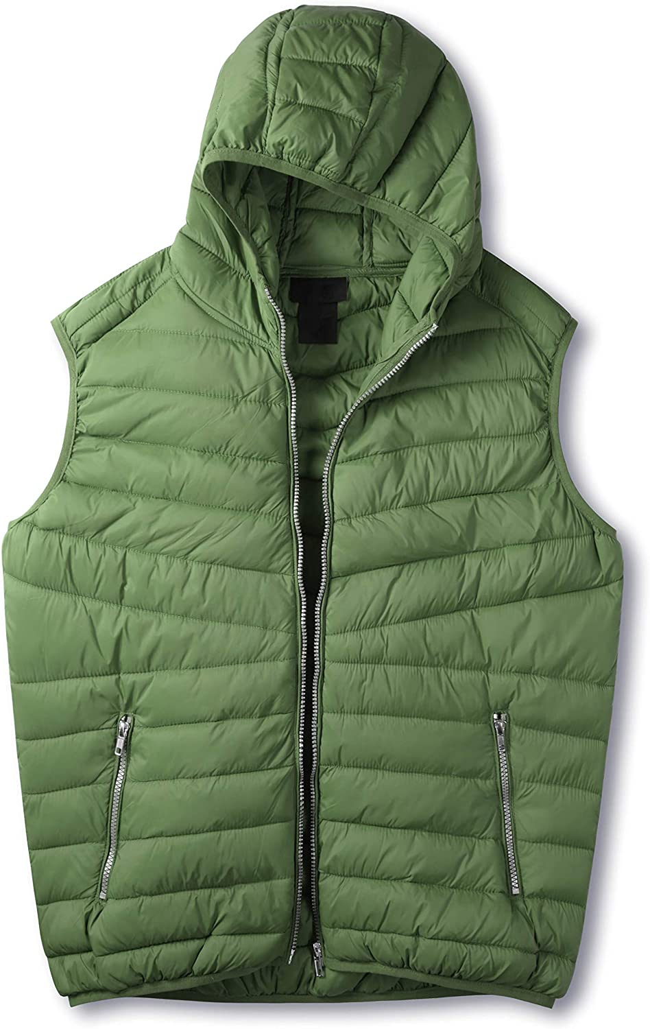 Hat and Beyond Mens Premium Lightweight Puffer Jacket /& Vest Padded Water Repellent Wind-Proof Comfy Warm Outerwear