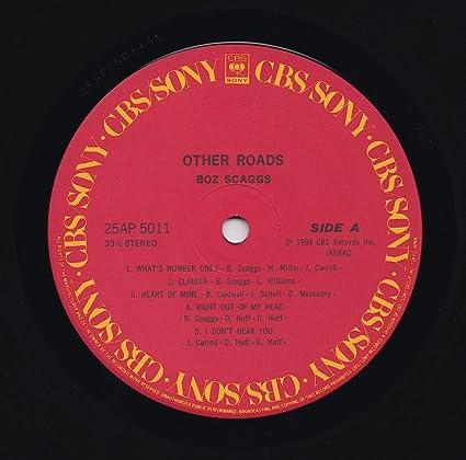 Boz Scaggs Other Roads Lp Vinyl Amazon Com Music