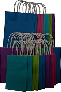 Amazon.com: Fun Express Mega Colorful Gift Bag Assortment (5 Dozen ...