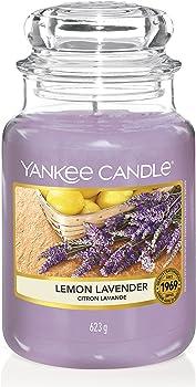 Yankee Lemon Lavender Candle Large Jar
