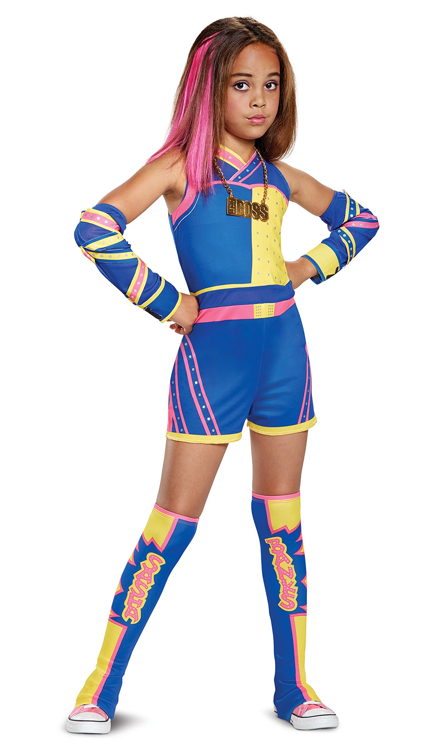 Sasha Banks Deluxe WWE Costume, Multicolor, Large (10-12)