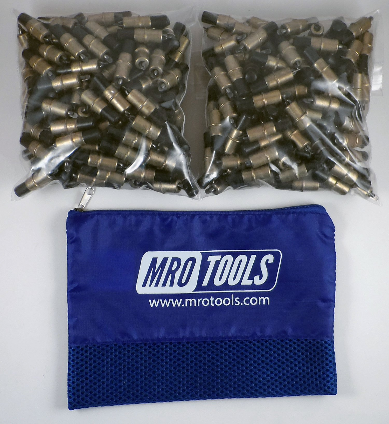 350 3/16 Extra Short Cleco Sheet Metal Fasteners w/ Mesh Carry Bag (KK2S350-3/16) by MRO Tools Cleco Fasteners