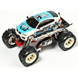 Sonic Rechargeable Remote Control Nuttiness Crosscountry Bullet Car, Blue
