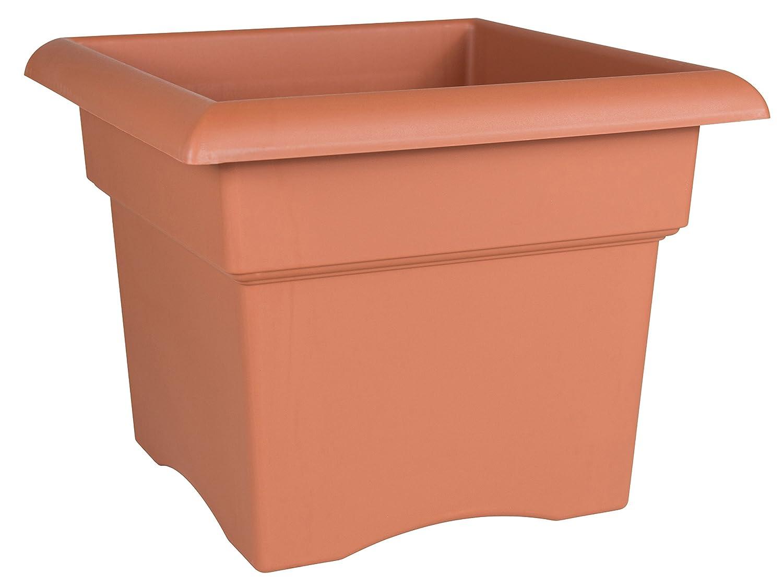 Bloem Fiskars 18 Inch Veranda 5 Gallon Box Planter, Color Clay (57018C), 18-Inch