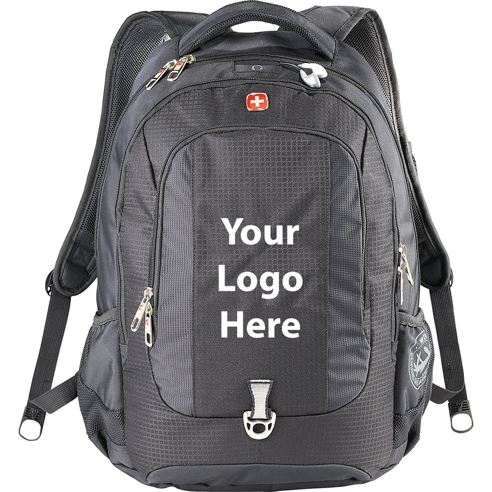 Wenger Express 15'' Computer Backpack - 12 Quantity - $74.75 Each - PROMOTIONAL PRODUCT / BULK / BRANDED with YOUR LOGO / CUSTOMIZED