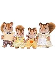 SYLVANIAN FAMILIES Walnut Squirrel Family Mini Muñecas y Accesorios Epoch para Imaginar 4172