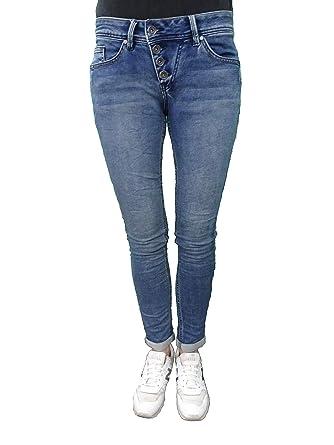 13a8d5e00906c5 Buena Vista Damen Jeans Malibu Hose Jogghose Joggpants Sweat Denim   Amazon.de  Bekleidung