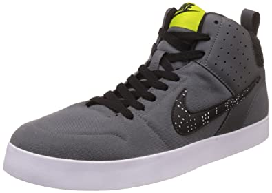 Nike Men's Grey Canvas Casual Shoes - 10
