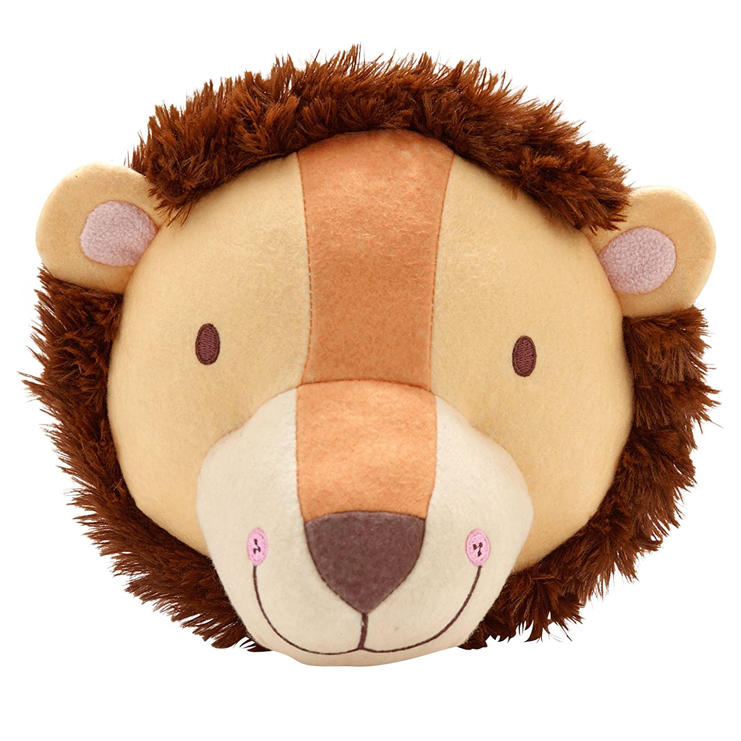 Little Love by NoJo – 3-D Lion Stuffed Wall Hanging Decor, Fauxidermy - Nursery, Bedroom or Playroom Décor