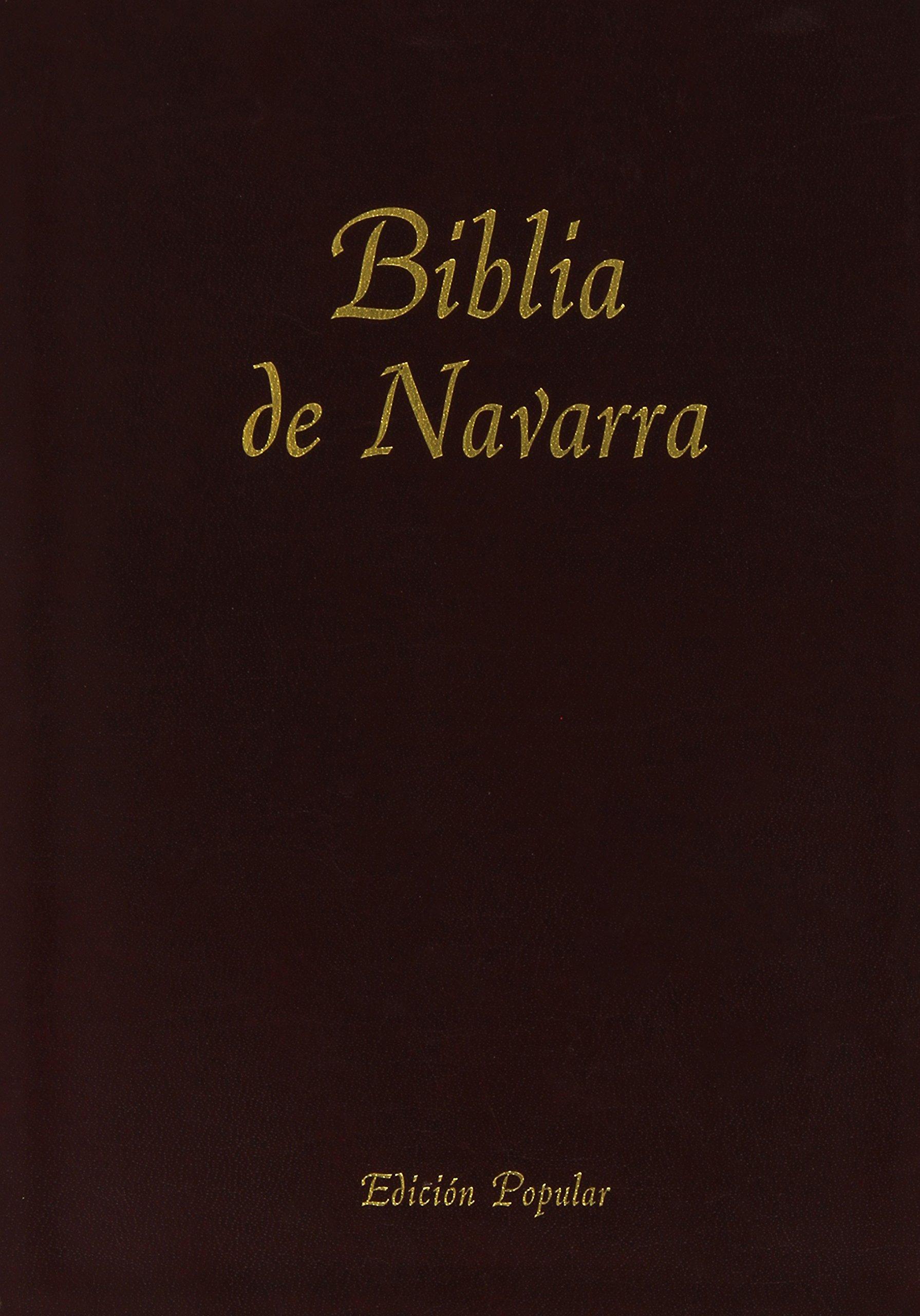 Biblia De Navarra (Encuadernada En Piel): 9781890177706: Amazon.com: Books