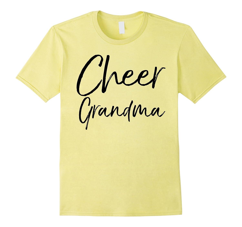 b5b144b48f Cheer Grandma Shirt Fun Proud Cheerleader Nana Tee-ANZ ⋆ Anztshirt
