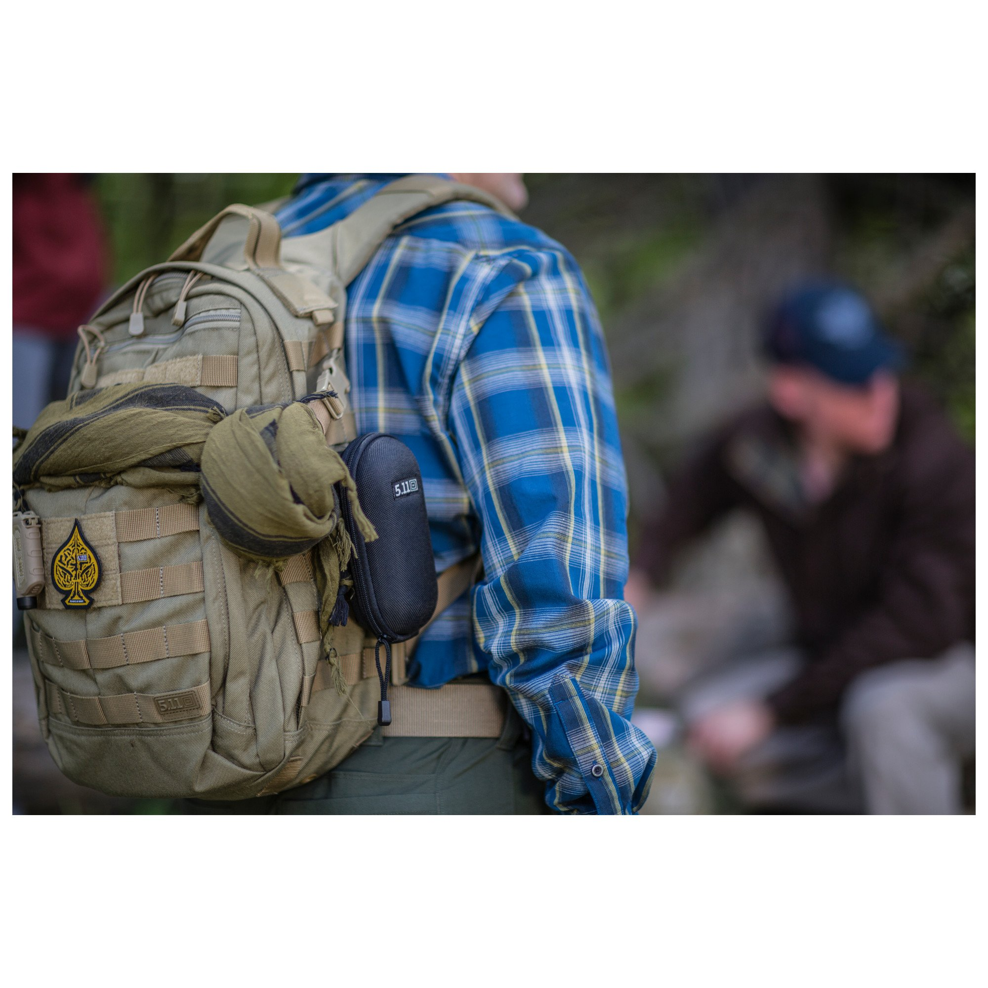 5.11 RUSH12 Tactical Military Assault Molle Backpack, Bug Out Rucksack Bag, Small, Style 56892, Multicam by 5.11 (Image #5)