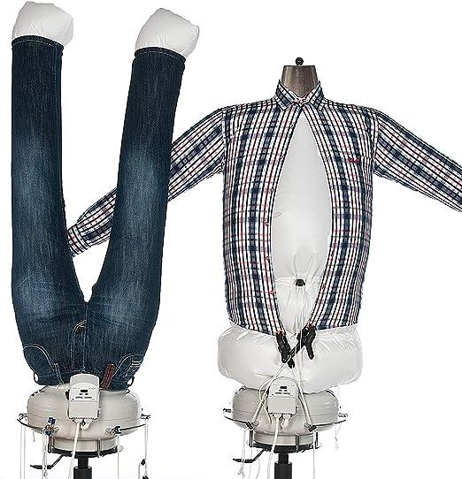 TUBIE máquina de planchado, maniquí plancha camisas, planchador de camisas, robot planchador de camisas: Amazon.es: Hogar