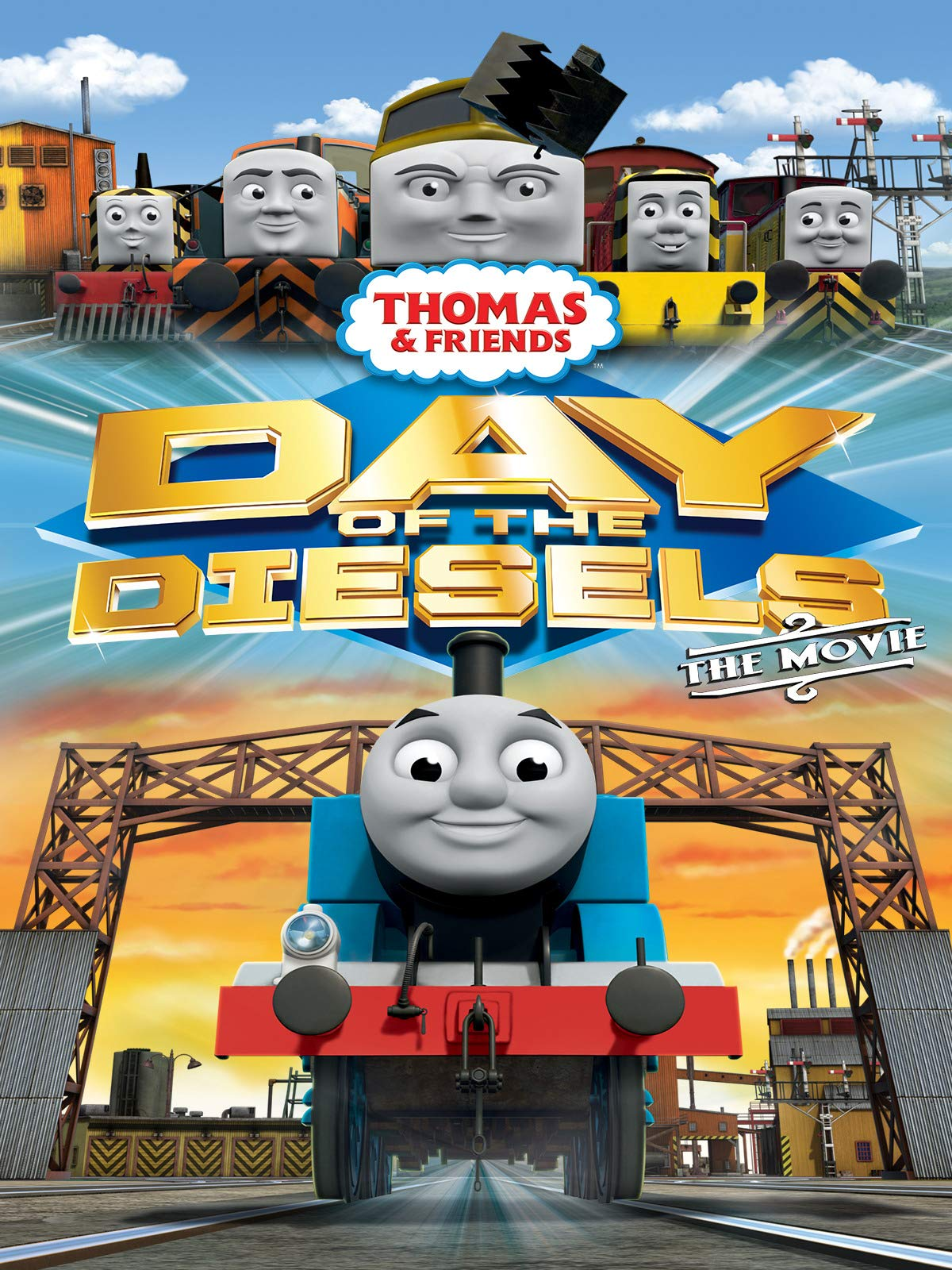 Thomas & Friends: Day of the Diesels (UK)