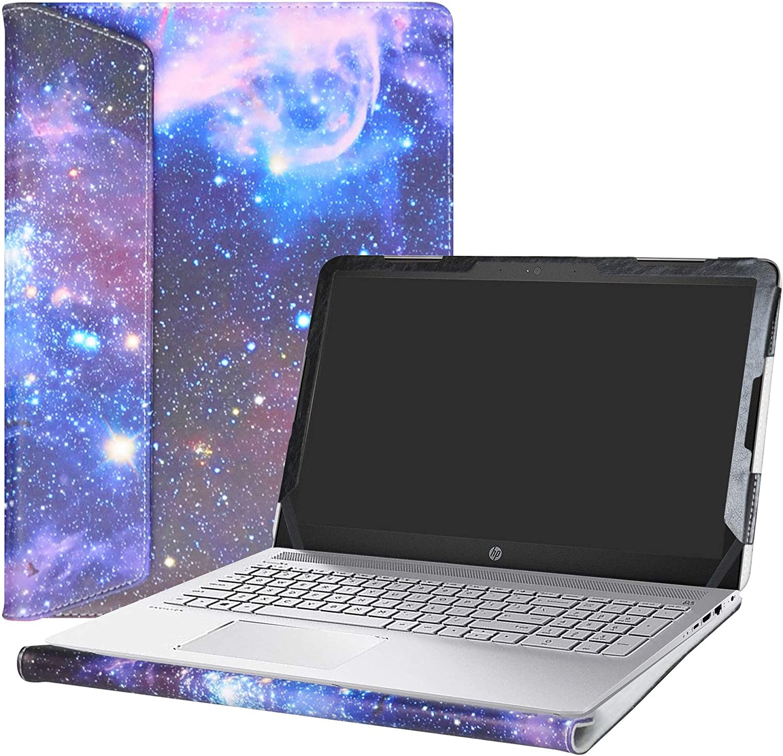 """Alapmk Protective Case Cover for 15.6"""" HP Pavilion 15 15-auXXX (15-au000 to 15-au999,Such as 15-au123cl) Laptop(Warning:Not fit Pavilion 15 15-abXXX/15-ccXXX/15-csXXX/15-bcXXX Series),Galaxy"""