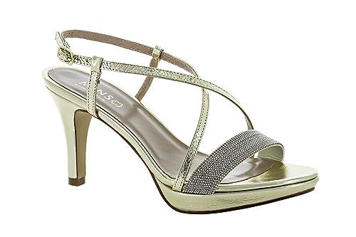Donna E Oro itScarpe Size39Amazon Sandali Borse Mins L3R4A5j