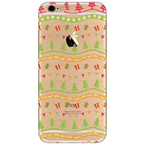 69964f039b WeLoveCase iPhone6 Plusケース iPhone6S Plusケース アイフォン6/6S Plusケース クリアケース クリスマス