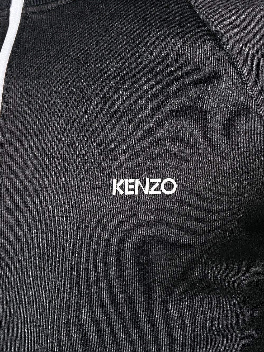 Kenzo Hombre F865bl7514ca99 Negro Poliéster Chaqueta: Amazon.es: Ropa y accesorios