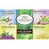 L'Angelica Misto Tisane 4 Gusti - 2 confezioni da 20 filtri [40 filtri]