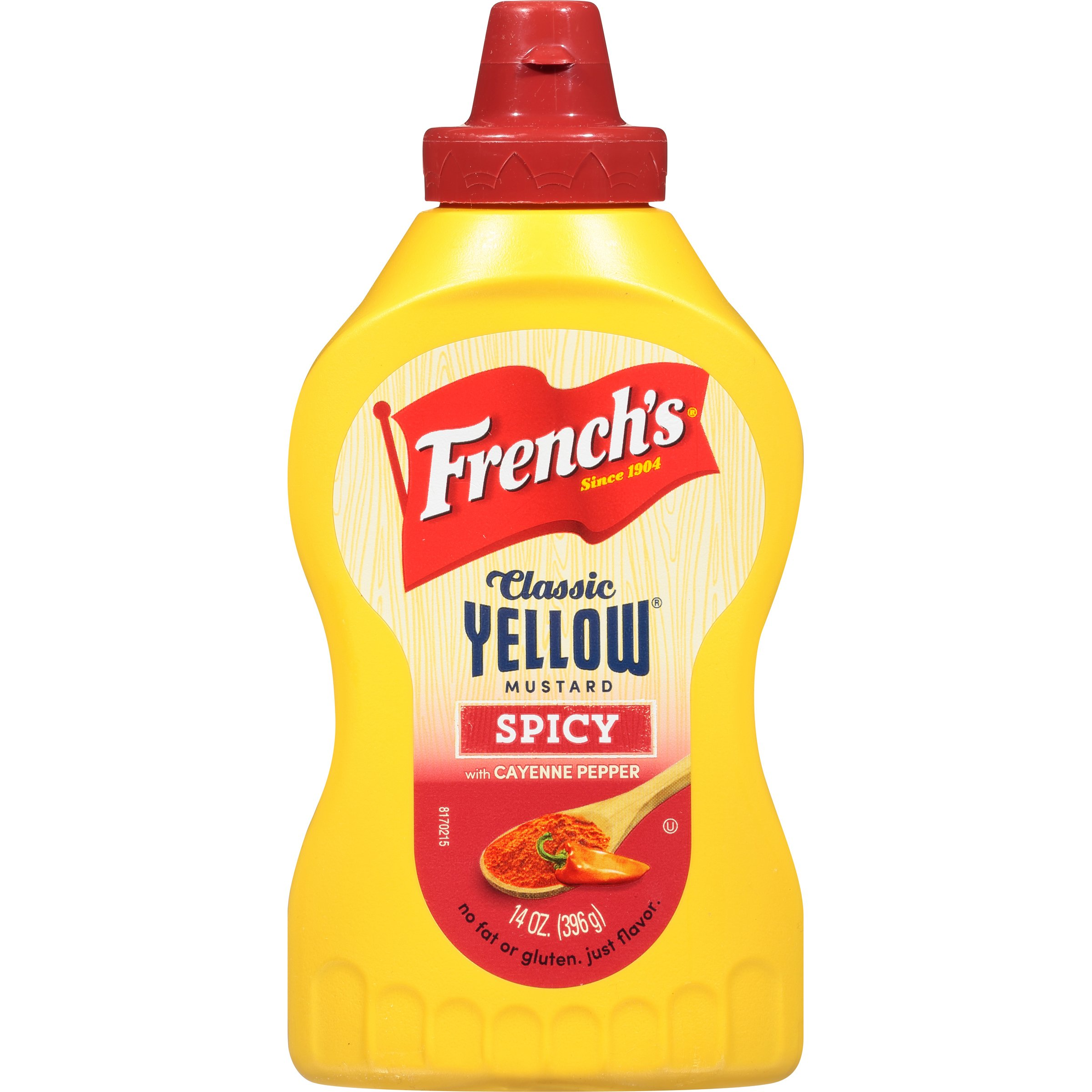 French's Spicy Yellow Mustard, 14 Ounce (Pack of 12)
