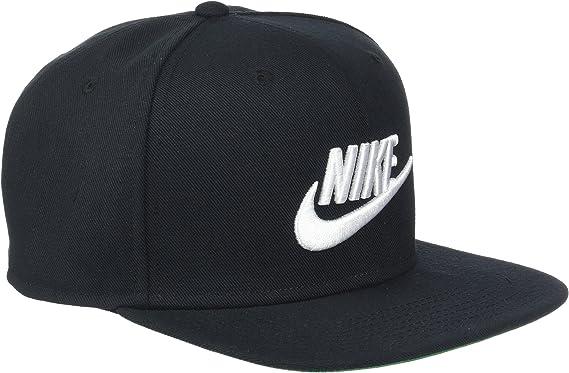 New Nike Mens Pro Futura Snapback Hat White//Pine Green//Black
