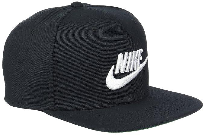 Nike Erwachsene Pro Schirmmütze, schwarz, One Size: Amazon