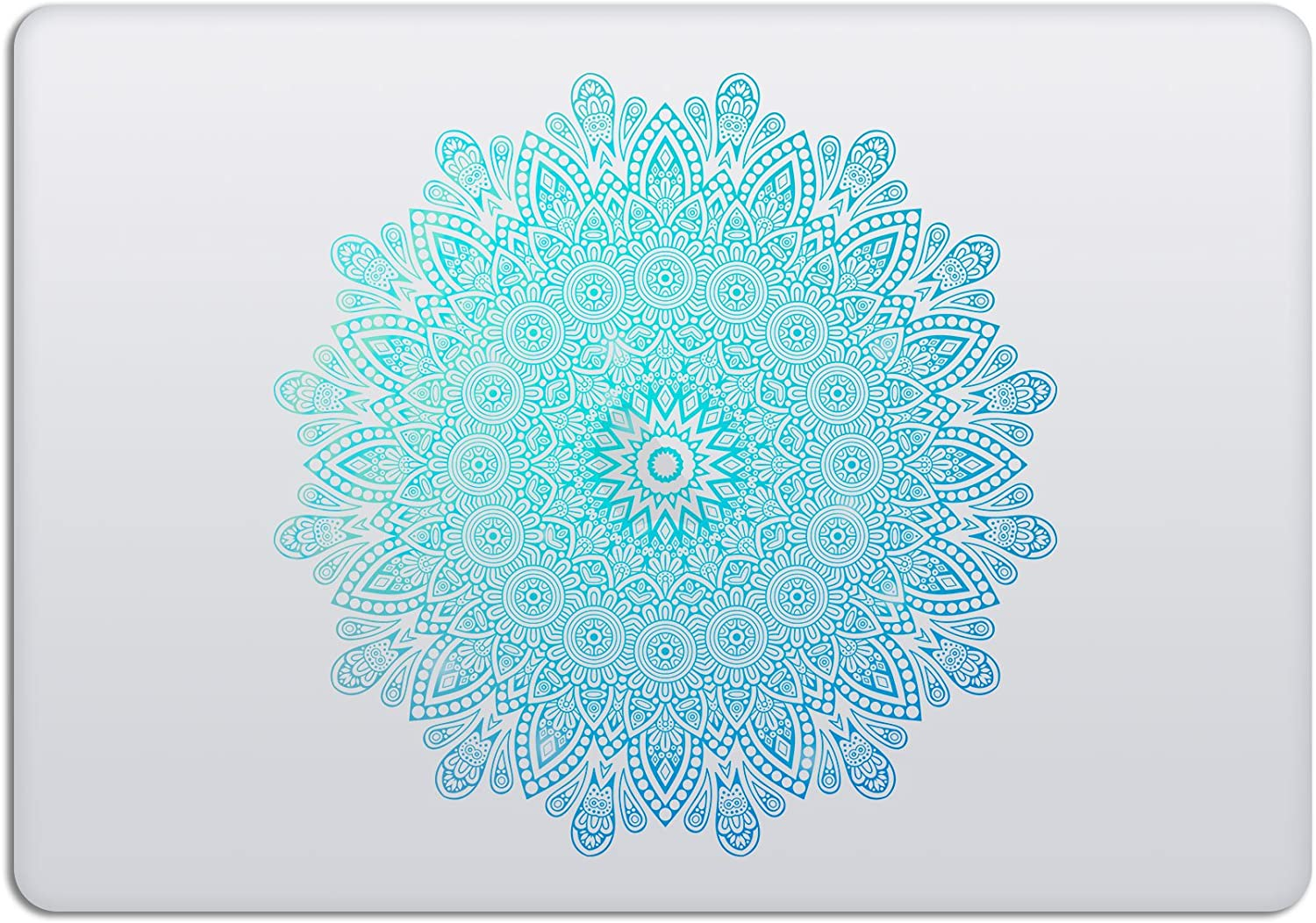 Laptop Stickers MacBook Decal - Removable Vinyl - Mandala Green Mint Decal Skin for Apple MacBook Air Pro 13 15 inch Mac Retina - Best Decorative Sticker by Artsybb