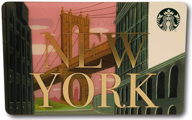 2019 Starbucks NEW YORK NYC Brooklyn Bridge Dumbo gift card Lot Of 24 Cards