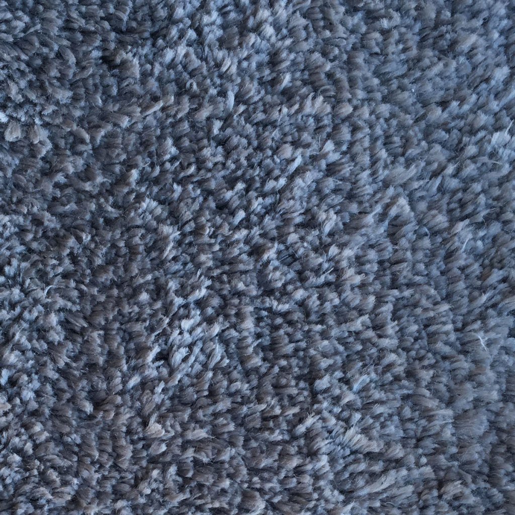 Mohawk Home Cut To Fit Royal Velvet Plush Bath Carpet, Grey, 6 by 10 Feet