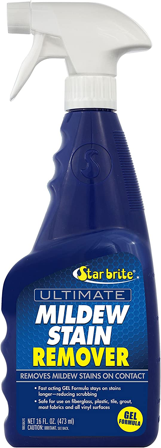 Star brite Ultimate Mildew Stain Remover - Spray Gel Formula