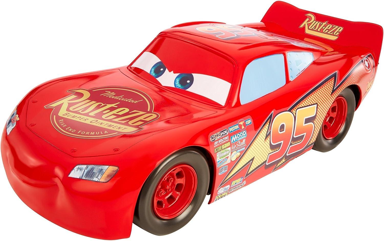 Cars Vehículo Mega Rayo Mcqueen 50cm, Coche de Juguete (Mattel FBN52): Amazon.es: Juguetes y juegos