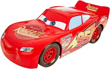 Amazon Com Disney Pixar Cars 3 Lightning Mcqueen 20 Inch Vehicle