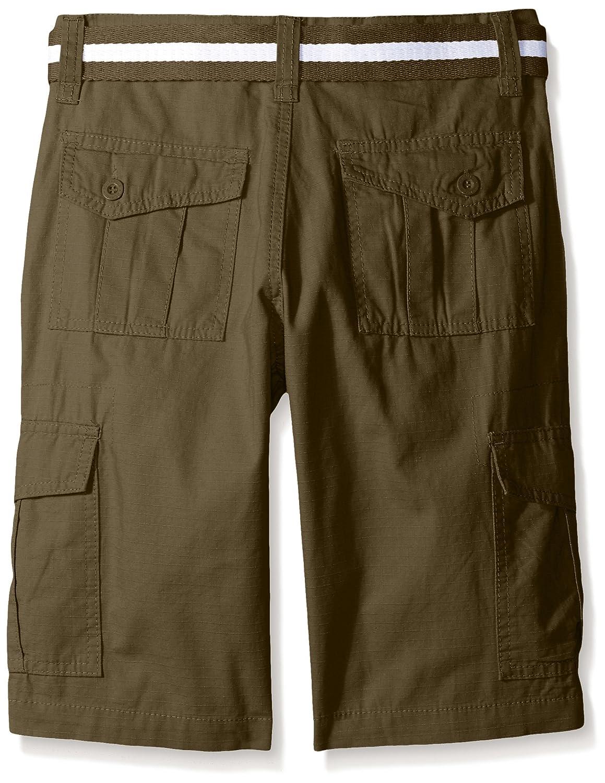 f01c9eaa5b Amazon.com: Southpole Boys' Belted Ripstop Basic Cargo Shorts: Clothing