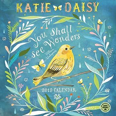 Katie Daisy 2019 Wall Calendar