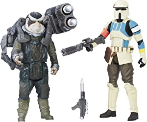 Star Wars: Rogue One Shoretrooper Captain vs. Bistan