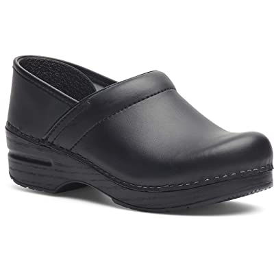 Amazon.com | Dansko Men's Professional Box Leather Clog | Mules & Clogs