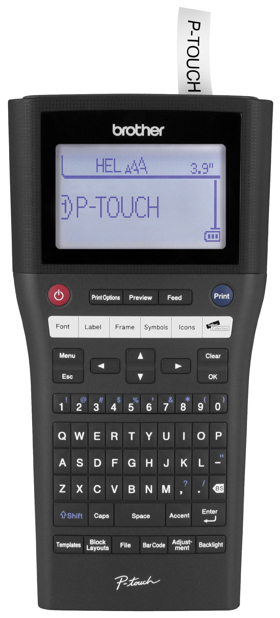 Brother P-touch Rechargeable, Take-It-Anywhere Label Maker with PC-Connectivity (PT-H500LI)