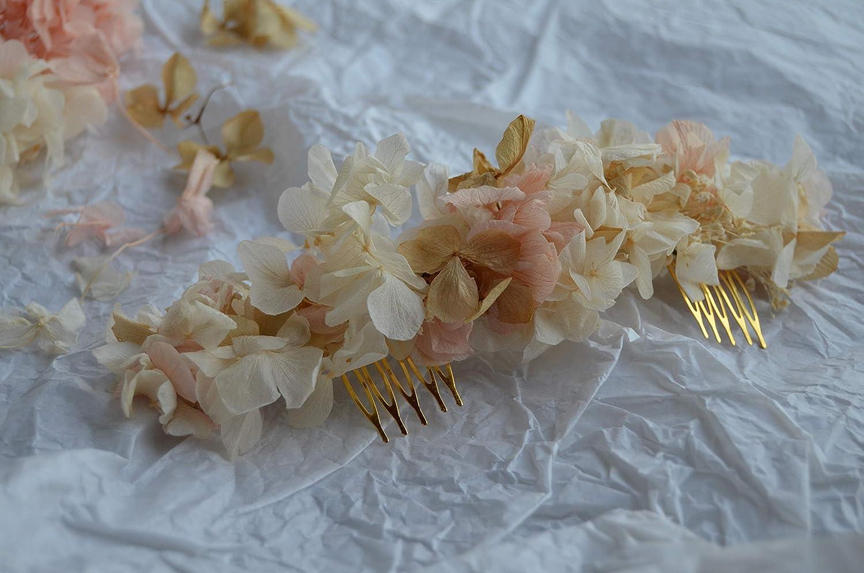 Tocado Cinthia flores preservadas