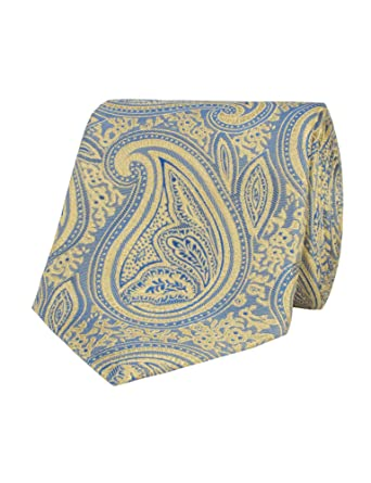 f95d71231428 Stvdio By Jeff Banks Gold Ornate Paisley Tie: Amazon.co.uk: Clothing