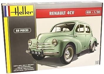 Heller - 80762 - Maqueta para Construir - Renault 4 CV - 1/24